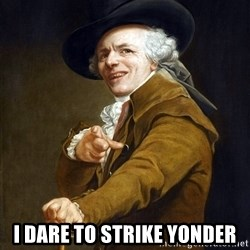 Joseph Ducreaux -  I dare to strike yonder