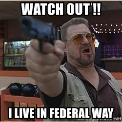 WalterGun - Watch Out !! I Live in Federal Way
