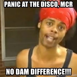 Bed Intruder - panic at the disco, MCR NO DAM DIFFERENCE!!!