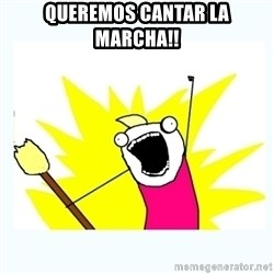 All the things - QUEREMOS CANTAR LA MARCHA!!