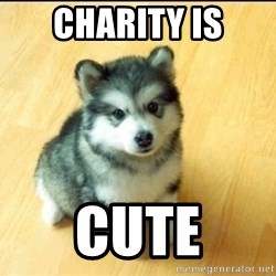 Baby Courage Wolf - charity is cute