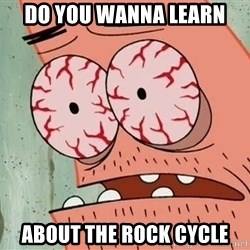 Stoned Patrick - DO YOU WANNA LEARN ABOUT THE ROCK CYCLE
