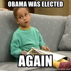 Olivia Cosby Show - obama was elected again