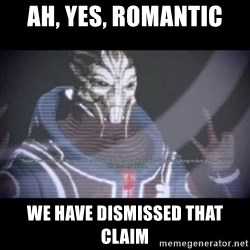 Ah, Yes, Reapers - Ah, yes, romantic We have dismissed that claim