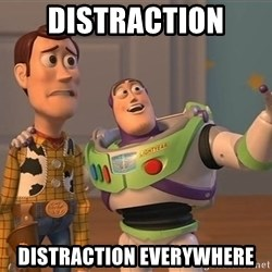 Anonymous, Anonymous Everywhere - Distraction Distraction everywhere