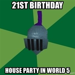 Runescape Advice - 21st BIRTHDAY House party in world 5
