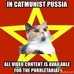 Lenin Cat Red - in catmunist pussia all video content is available for the purrletariat