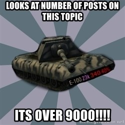 TERRIBLE E-100 DRIVER - Looks at number of posts on this topic ITS OVER 9000!!!!