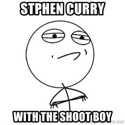 Challenge Accepted HD 1 - stphen curry with the shoot boy