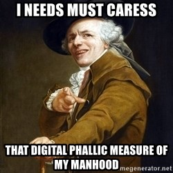Joseph Ducreaux - i needs must caress that digital phallic measure of my manhood