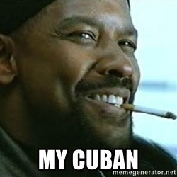 My Nigga Denzel -  My cuban