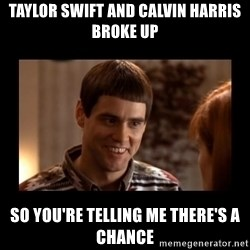 Lloyd-So you're saying there's a chance! - Taylor swift and calvin harris broke up so you're telling me there's a chance