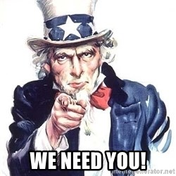 Uncle Sam -  We need you!