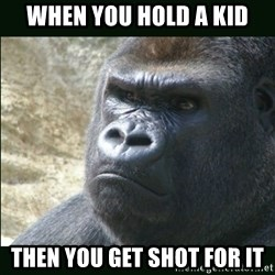 Rustled Jimmies - When you hold a kid then you get shot for it