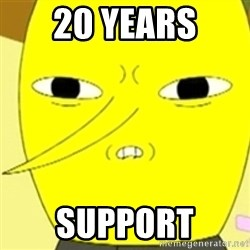 LEMONGRAB - 20 Years support