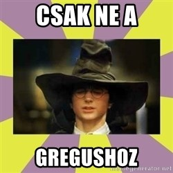 Harry Potter Sorting Hat - Csak ne a Gregushoz
