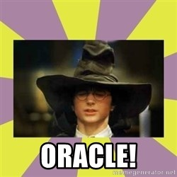 Harry Potter Sorting Hat -  Oracle!