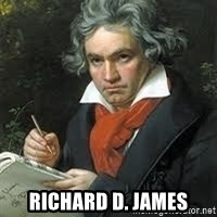 beethoven -  Richard d. james