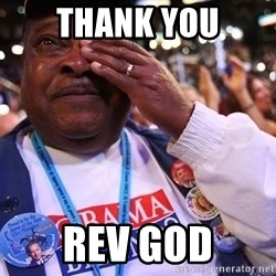 Thank You Based God - THANK YOu REV GOD