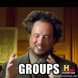 History guy -  Groups