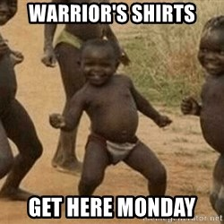 Success African Kid - Warrior's shirts Get here Monday