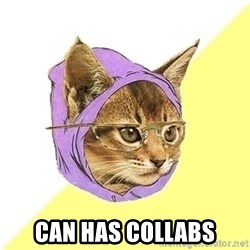 Hipster Cat -  can has collabs
