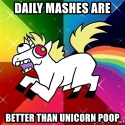 Lovely Derpy RP Unicorn - daily mashes are  better than unicorn poop