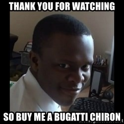 KSI RAPE  FACE - thank you for watching so buy me a bugatti chiron