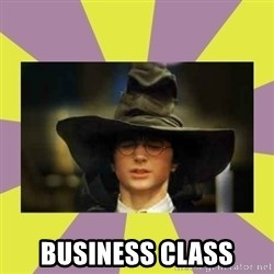 Harry Potter Sorting Hat -  Business Class