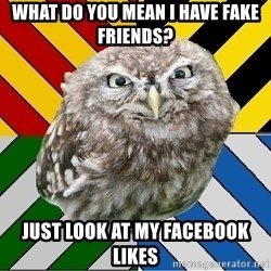 JEALOUS POTTEROMAN - what do you mean i have fake friends? just look at my facebook likes