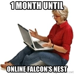 SHOCKED MOM! - 1 Month until  Online Falcon's Nest
