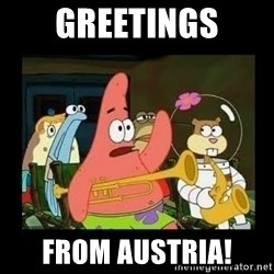 Patrick Star Instrument - GREETINGS FROM AUSTRIA!