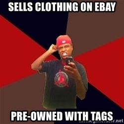 wannabe rapper - Sells clothing on eBay Pre-owned with tags