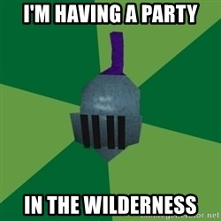 Runescape Advice - I'm having a party in the wilderness