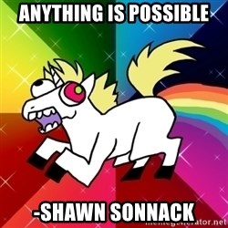 Lovely Derpy RP Unicorn - ANYTHING IS POSSIBLE -Shawn Sonnack
