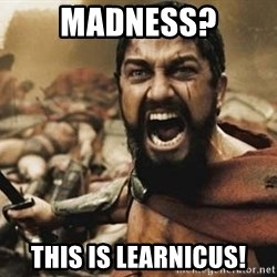 300 - Madness? This is LEARNICUS!
