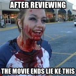 Scary Nympho - after reviewing the movie ends lie ke this