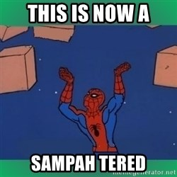 60's spiderman - THIS IS NOW A SAMPAH TERED