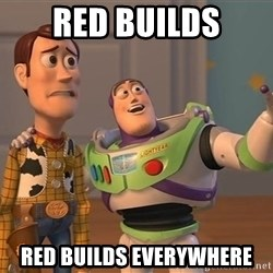 Anonymous, Anonymous Everywhere - Red Builds Red Builds everywhere