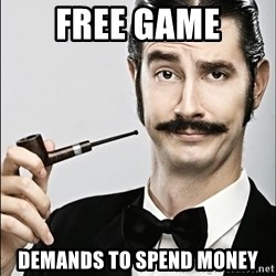 Rich Guy - Free game Demands to spend money