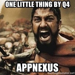 300 - one little thing by Q4 APPNEXUS