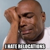 cryingblackman -  i hate relocations