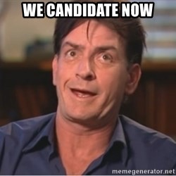 Sheen Derp - We Candidate Now