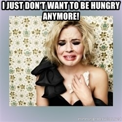 Crying Girl - I just don't want to be hungry anymore!