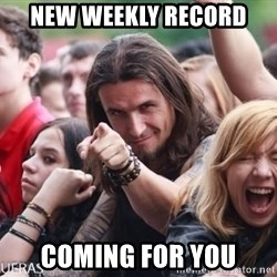 Ridiculously Photogenic Metalhead Guy - new weekly record coming for you