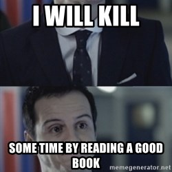 Misleading Moriarty - i will kill some time by reading a good book