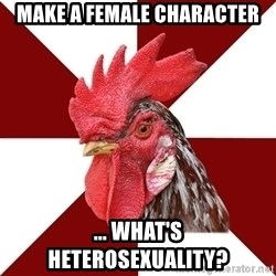 Roleplaying Rooster - Make A Female Character ... What's heterosexuality?