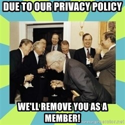 reagan white house laughing - Due to our privacy policy We'll remove you as a member!