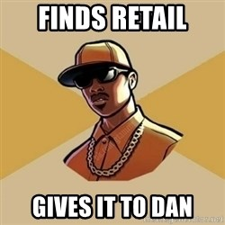 Gta Player - Finds retail Gives it to Dan
