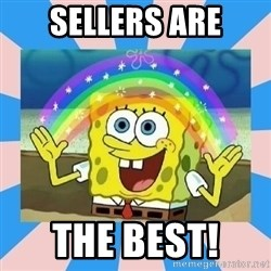 Spongebob Imagination - Sellers are the best!